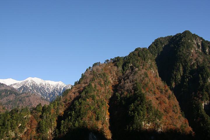 奥鐘山と白馬岳